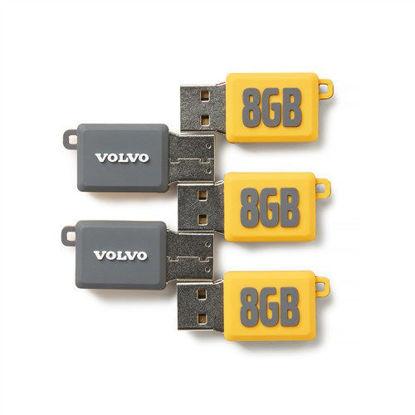 Picture of Volvo Identity Slim USB 8GB (5 pack)