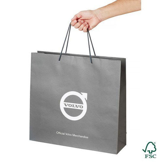 Picture of Volvo Iron Mark Paper Bag Large (50-pack)