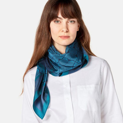 Picture of Volvo Iron Mark Silk Scarf