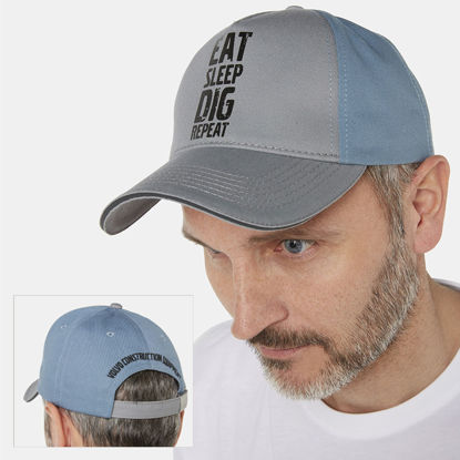 Picture of VCE Eat Sleep Dig Repeat Cap