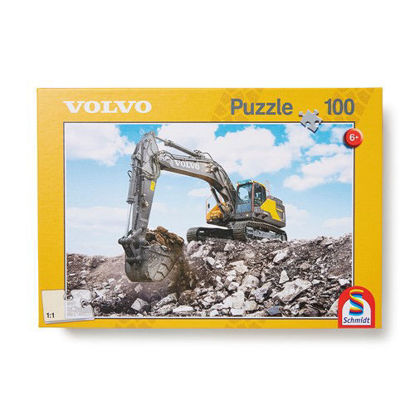 Picture of Volvo Excavator 100 piece Puzzle