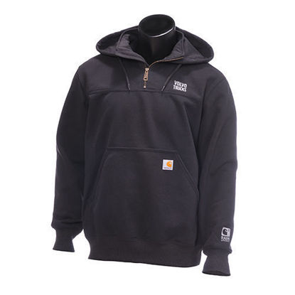 Picture of Volvo Trucks Rain Defender Heavyweight Mock Zip Sweatshirt